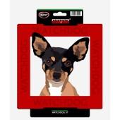 Kunststof waakbord Chihuahua
