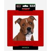 Kunststof waakbord American Staffordshire Terrier & Staffordshire Bull Terrier