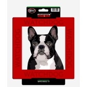 Kunststof waakbord Boston Terrier & Franse Bulldog