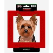Kunststof waakbord Yorkshire Terrier