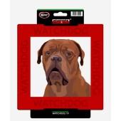 Kunststof waakbord Bordeaux Dog