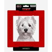 Kunststof waakbord Havanezer & West Highland White Terrier