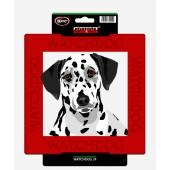Kunststof waakbord Dalmatische Hond