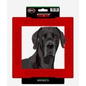 Kunststof waakbord Deense Dog / Duitse Dog