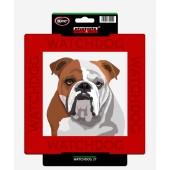 Kunststof waakbord Engelse Bulldog