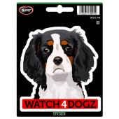 Sticker Cavalier King Charles Spaniel