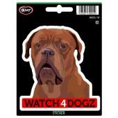 Sticker Bordeaux Dog