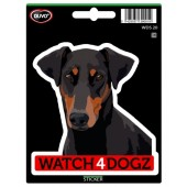 Sticker Beauceron & Duitse Pinscher & Dobermann