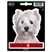 Sticker Havanezer & West Highland White Terrier