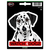 Sticker Dalmatische Hond