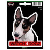 Sticker Bull Terrier