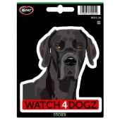 Sticker Deense Dog / Duitse Dog
