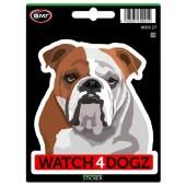Sticker Engelse Bulldog